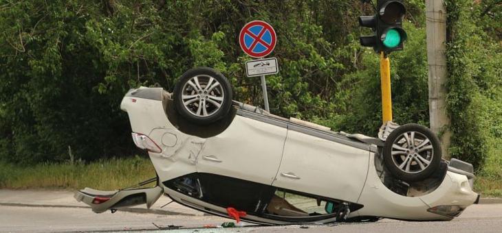 """Катастрофа на бул. """"Цариградско шосе"""" в столицата"""